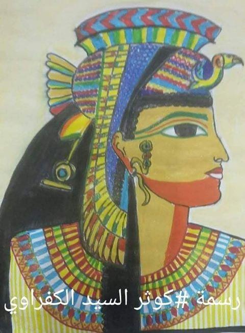 كوثر السيد الكفراوي من الفن للابداع برسومات فنية وبورترية 5